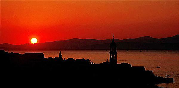Herrliche Landschaft in Kroatien