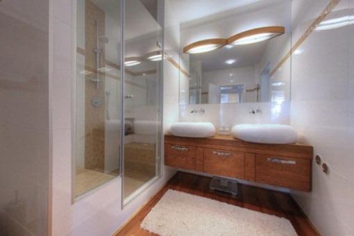 Badezimmer-Split-modern
