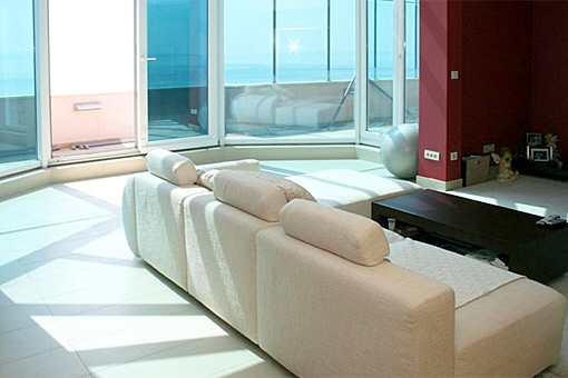 Penthouse Wohnung mit Meerblick
