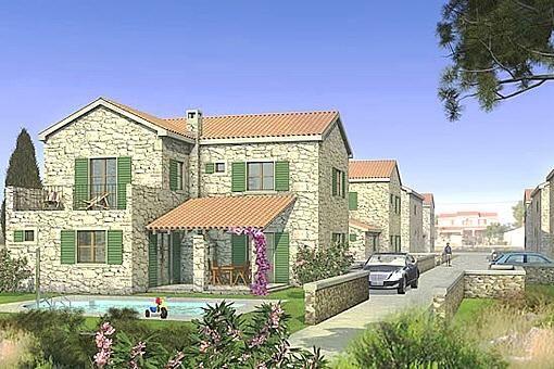 Neues Einfamilienhaus aus bei Zadar