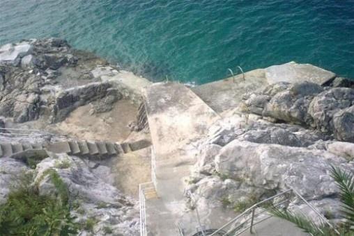 Meer-Treppe-Kroatien
